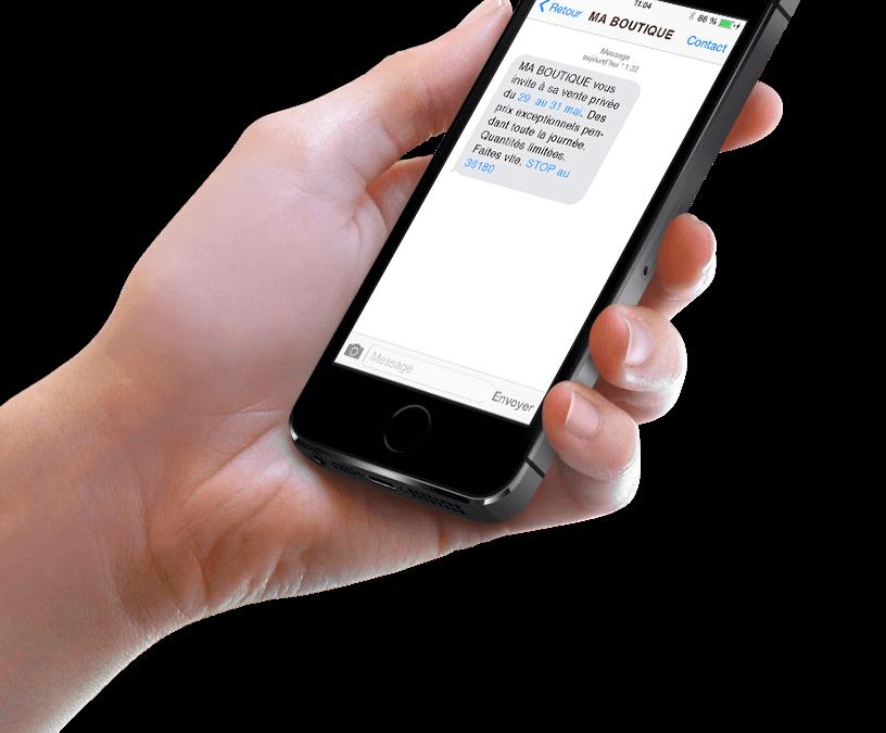 Le SMS outil incontournable pour le commerce détail